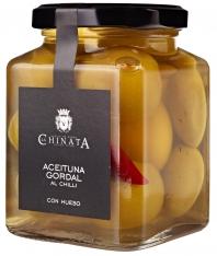 Gordal-Olive mit Chilli La Chinata