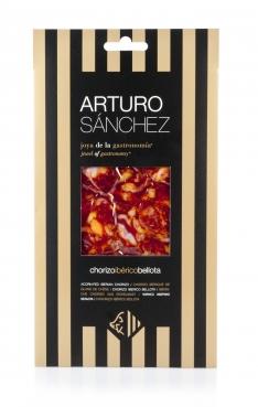 Pata Negra Chorizo Paprikawurst aus Eichelmast Gran Reserva Arturo Sánchez handgeschnitten