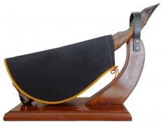 Abdeckung für Schinken schwarz Jamonprivé - Schinkenabdeckung
