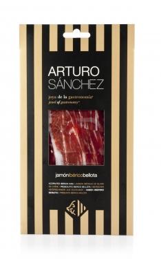 Pata Negra Schinken aus Eichelmast Gran Reserva Arturo Sánchez von Hand geschnitten