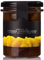 Karamellisierte Apfelscheiben La Chinata