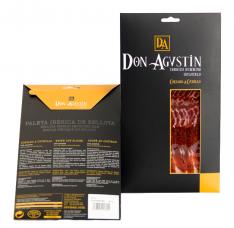 Pata Negra Schinken aus Eichelmast Don Agustín in Scheiben von Hand geschnitten (Vorderschinken)