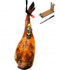 Pata Negra Schinken aus Eichelmast Reserva Arturo Sánchez + Schinkenhalter + Messer (Vorderschinken)