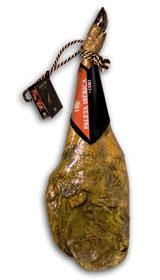 Zertifizierter Pata Negra Schinken aus Wildpflanzenmast Revisan (Vorderschinken)