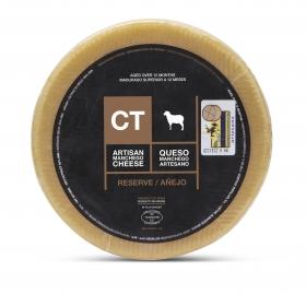 Ganzer Manchego-Käse Reserva CT