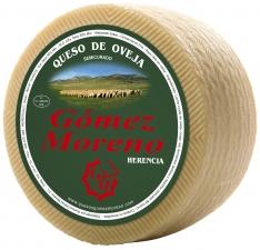 Schafskäse handgemacht halbgereift klein Gómez Moreno