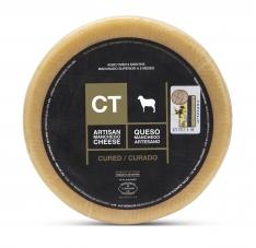 Ganzer Manchego-Käse gereift CT