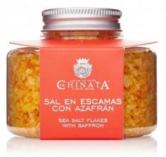 Salzflocken mit Safran La Chinata