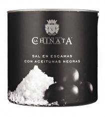 Meersalzflocken mit Oliven La Chinata