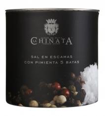 Meersalzflocken mit Pfeffer La Chinata