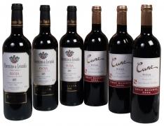 Rotweine D.O. Ca Rioja Weihnachtsspecial